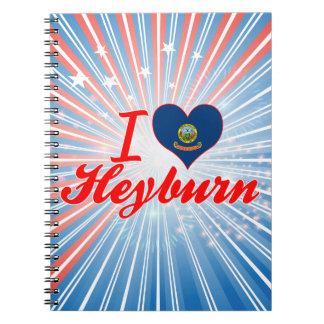 Amo Heyburn, Idaho Libro De Apuntes