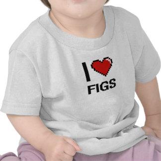 Amo higos camiseta