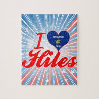 Amo Hiles, Wisconsin Puzzles