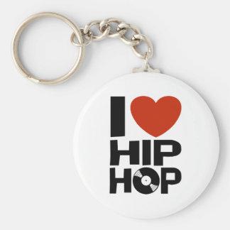 Amo Hip Hop Llavero Personalizado