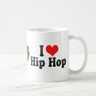 Amo Hip Hop Tazas De Café