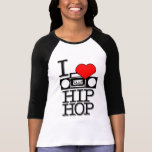 Amo HIPHOP Camiseta