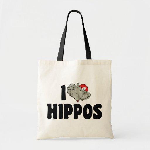 Amo hipopótamos bolsas