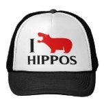 Amo hipopótamos gorras de camionero