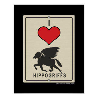 Amo HIppogriffs Poster