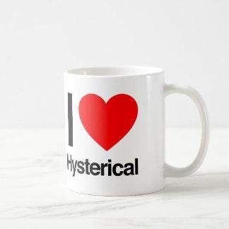 amo histérico taza de café