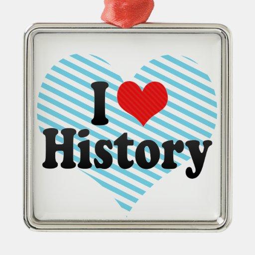 Amo historia adorno
