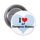 Amo historia del europeo del AP Pin