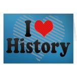 Amo historia felicitaciones