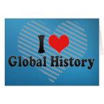 Amo historia global felicitaciones