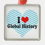 Amo historia global ornamentos de reyes magos