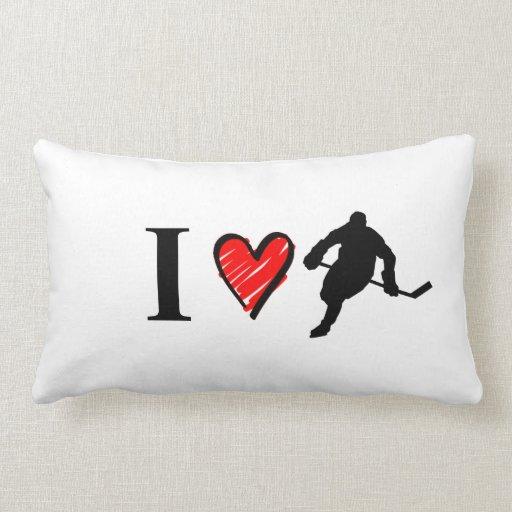 Amo hockey cojines