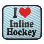 Amo hockey en línea fundas para iPads