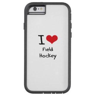 Amo hockey hierba funda de iPhone 6 tough xtreme