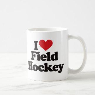 Amo hockey hierba taza clásica