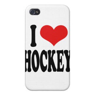 Amo hockey iPhone 4/4S carcasas