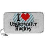 Amo hockey subacuático iPod altavoces