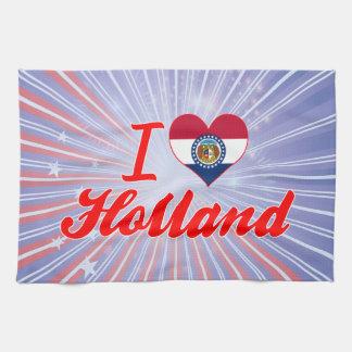Amo Holanda, Missouri Toallas