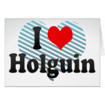 Amo Holguin, Cuba Tarjetas