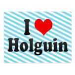 Amo Holguin, Cuba Tarjetas Postales