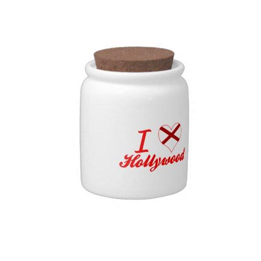 Amo Hollywood, Alabama Platos Para Caramelos