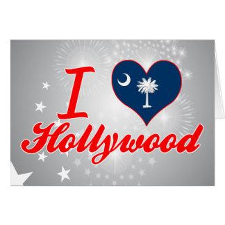 Amo Hollywood, Carolina del Sur Tarjeta De Felicitación