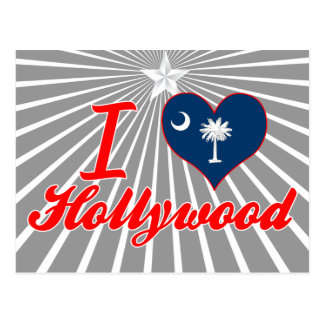 Amo Hollywood, Carolina del Sur Postal