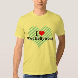 Amo Hollywood del oeste, Estados Unidos Playera