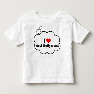 Amo Hollywood del oeste, Estados Unidos Playera De Niño