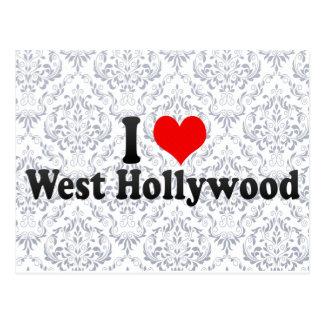 Amo Hollywood del oeste, Estados Unidos Tarjeta Postal
