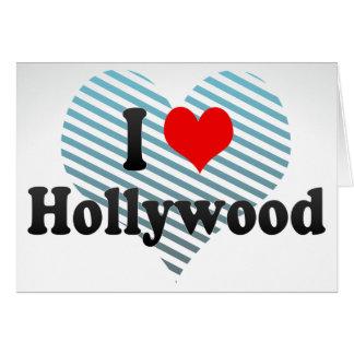 Amo Hollywood, Estados Unidos Tarjeta Pequeña