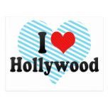 Amo Hollywood Postal