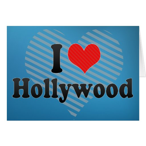Amo Hollywood Tarjetón