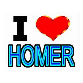 Amo home run postales