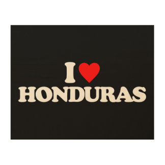 AMO HONDURAS CUADROS DE MADERA