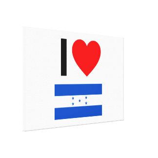 amo Honduras Impresiones De Lienzo