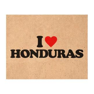 AMO HONDURAS IMPRESIÓN EN CORCHO