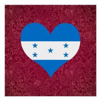 Amo Honduras Perfect Poster