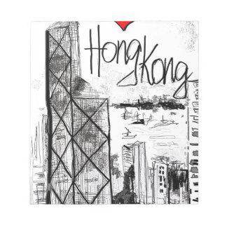 Amo Hong Kong Bloc De Notas