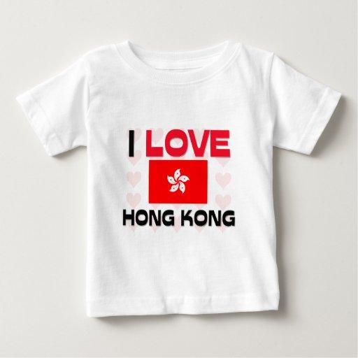 Amo Hong Kong Playeras
