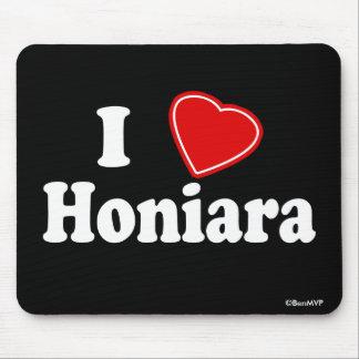 Amo Honiara Tapetes De Ratón