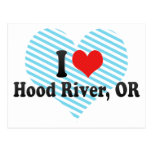 Amo Hood River, O Tarjeta Postal