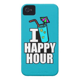 Amo hora feliz iPhone 4 fundas
