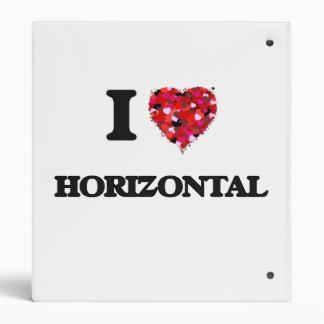 """Amo horizontal carpeta 1"""""""