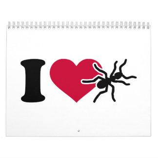Amo hormigas calendario