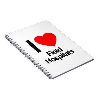 amo hospitales de campaña libros de apuntes
