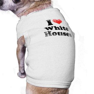 AMO HOUSES png BLANCO Camisetas De Perrito