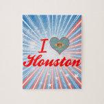 Amo Houston, Delaware Rompecabeza Con Fotos