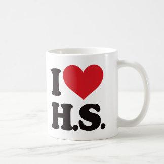 ¡Amo HS (High School secundaria)! Taza