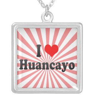 Amo Huancayo, Perú Grímpola